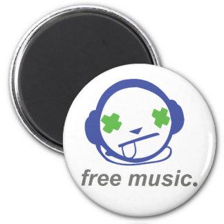 música libre, jammie libre imanes