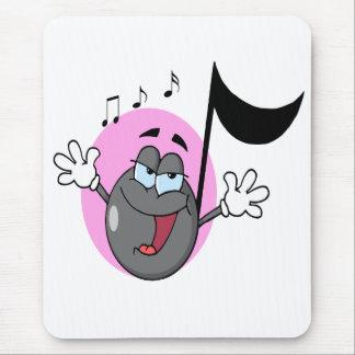 música linda del canto personaje de dibujos animad tapete de ratón