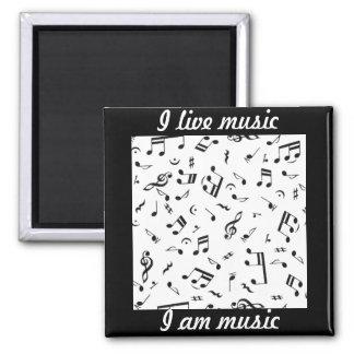 Música Lives_ Imán Para Frigorifico