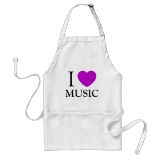 Música Lover_ Delantales
