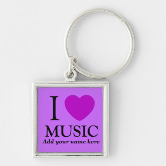 Música Lover_ Llavero