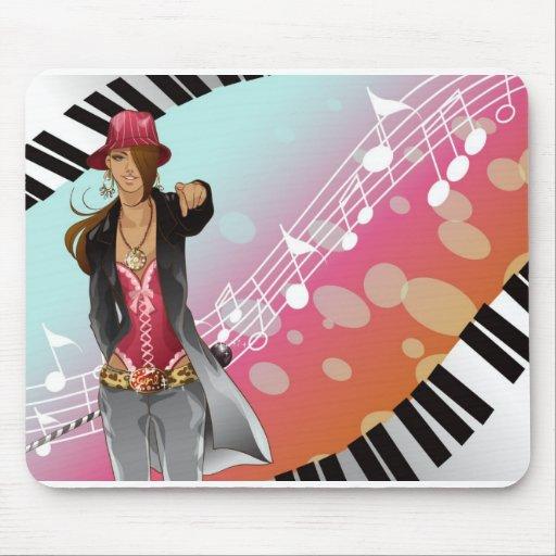 Música Mousepad Tapete De Ratón