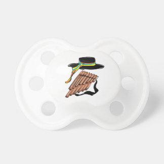 música negra design.png de la cinta de la flauta d chupetes de bebe