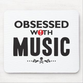 Música obsesionada alfombrillas de ratones