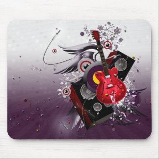 música-papel pintado alfombrillas de ratones