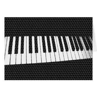 Música para el soul_ tarjeta de felicitación