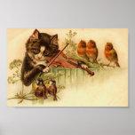 Música para los pájaros, el gato y los pájaros impresiones