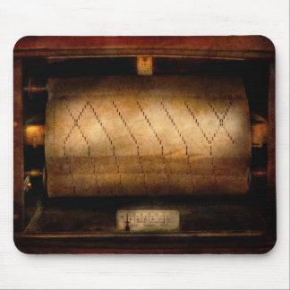 Música - piano - código binario alfombrillas de ratones