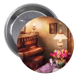 Música - piano - el cuarto de la música pin