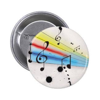 Música Pin Redondo 5 Cm