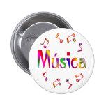 MUSICA PIN REDONDO 5 CM