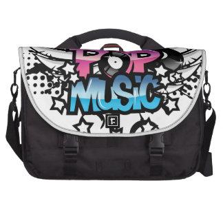 Música pop bolsas para portátil