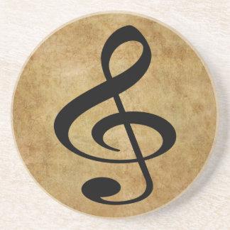 Música Posavasos De Arenisca