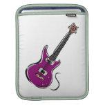 música púrpura graphic.png de la guitarra eléctric manga de iPad