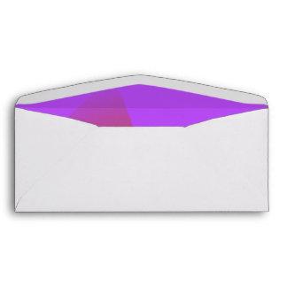 Música púrpura simple sobres