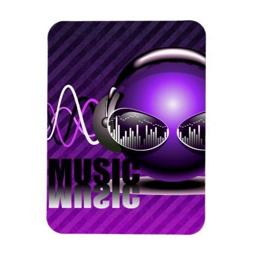 Música que bombea en mis oídos iman flexible