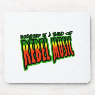 Música rebelde de Dubstep Alfombrillas De Ratones