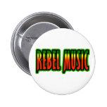 Música rebelde pins