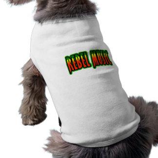 Música rebelde ropa de perros