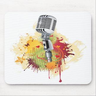 """""""Música retra """"Mousepad Tapetes De Ratones"""