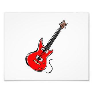música roja graphic.png de la guitarra eléctrica fotografias