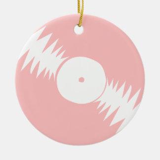 Música rosada femenina del vinilo de DJ del álbum  Adorno De Navidad
