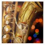 Música - saxofón - muy saxxy azulejos cerámicos