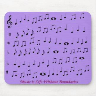 música sin mousepad de los límites