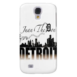 Música sobre Detroit Funda Samsung S4