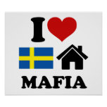 Música sueca de la casa poster