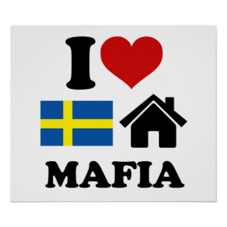 Música sueca de la casa póster