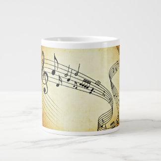 Música Taza De Café Gigante
