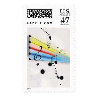 Música Timbres Postales