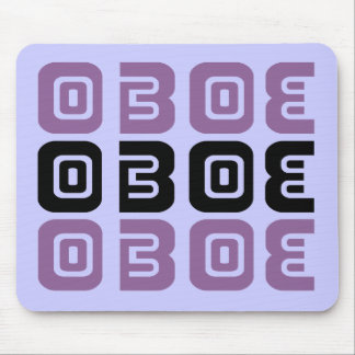 Música tribal de Oboe Mouse Pad