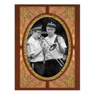 Música - Trombone - una mano amiga Tarjetas Postales