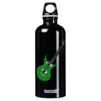 música verde graphic.png de la guitarra eléctrica
