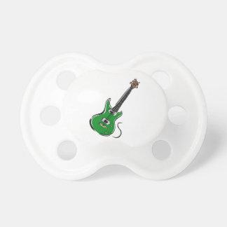 música verde graphic.png de la guitarra eléctrica chupetes de bebe