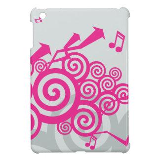 Música vibrante iPad mini fundas