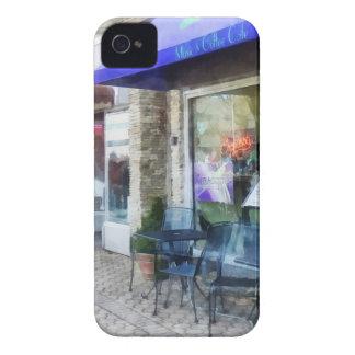 Música y café del café iPhone 4 Case-Mate protectores