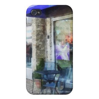 Música y café del café iPhone 4/4S carcasa