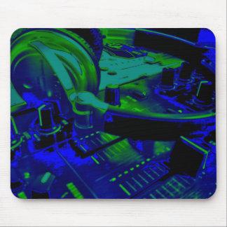 música y luces Mousepad Alfombrilla De Raton