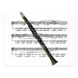 Musical 09 B del Clarinet Postales