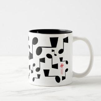 Musical 09 Two-Tone coffee mug