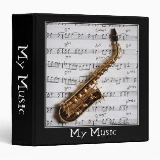 "Musical 1.5"" Customizable Binder/Album Binder"