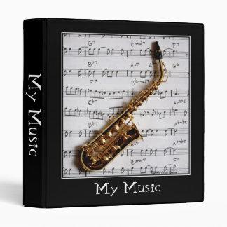 "Musical 1"" Customizable Binder/Album Binder"