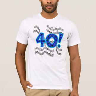 Musical 40th Birthday T-Shirt
