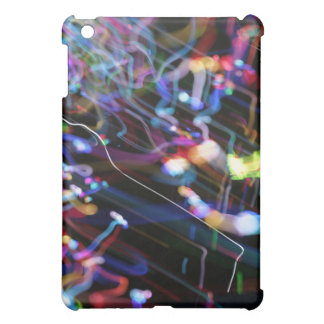 Musical abstract light iPad case