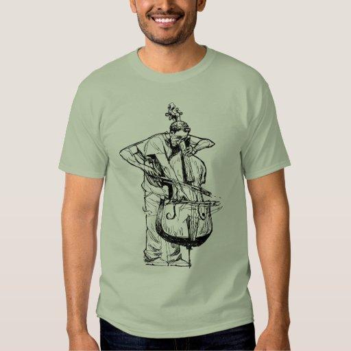 Musical action tshirts