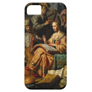 Musical Allegory by Rembrandt iPhone SE/5/5s Case