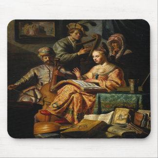 Musical Allegory Mousepad